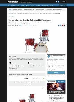 Sonor Martini Special Edition