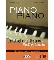 Livros de canções para piano