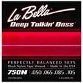 La Bella 750N Black Nylon L