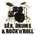 Bandshop Sticker Sex, Drums & Rock
