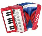 Helene Kids Accordion Red Startone