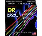 HiDef Multi Color Neon E 10 DR Strings