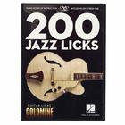 Hal Leonard 200 Jazz Licks-Guitar Licks