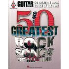 Hal Leonard Guitar World: 50 Greatest Rock