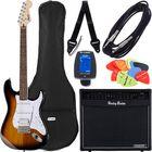 Fender SQ Bullet Strat HSS SB Bundle3