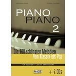 Hage Musikverlag Piano Piano Vol.2 Easy +CD