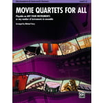 Alfred Music Publishing Movie Quartets for All A-Sax