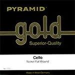 Pyramid Gold Cello String 1/4