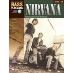 Hal Leonard Nirvana Bass Play-Along
