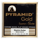Pyramid Gold Flatwound 011-050