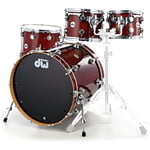 DW Lacquer Custom Fusion Brown
