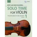 Oxford University Press Solo Time For Violin Book 1