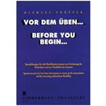 Zimmermann Verlag Pröpper Before You Begin...