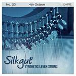 Bow Brand Silkgut 4th D Harp Str. No.23