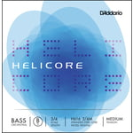 Daddario H616-3/4M Helicore Bass B Med.