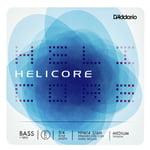 Daddario HH614-3/4M Helicore Bass E Med