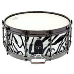 "Colour Your Drum 14""x5,5"" Steel Snare Zebra"