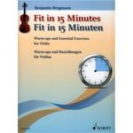 Schott Fit In 15 Minutes Violin