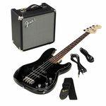 Fender SQ Affinity PJ Bass Pack BK