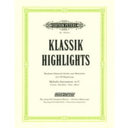 C.F. Peters Klassik-Highlights Recorder