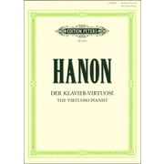 C.F. Peters Hanon Der Klavier-Virtuose