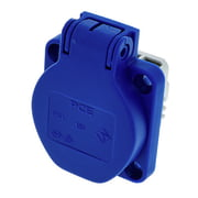 PCE Mounting Power Socket Blue