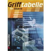 Voggenreiter Grifftabelle für Gitarre