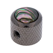 Q-Parts Mini Dome Potiknob Abalone BCR