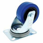 Millenium Blue Wheel Without Brake 80mm