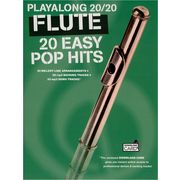 Wise Publications Playalong 20/20 Flute: 20 Easy