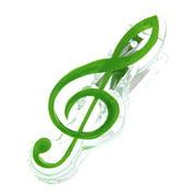 A-Gift-Republic Music Clip Violin Clef Green