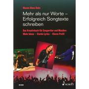 Schott Songtexte Schreiben