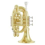 Jupiter JTR710L Pocket Trumpet Lacquer