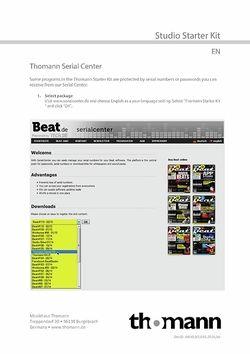 Registration and serials