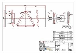 Technical Drawing: base plate