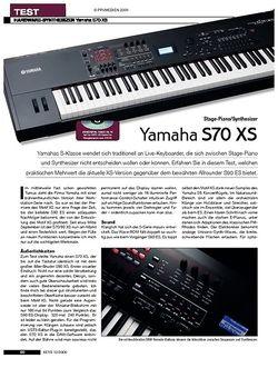 KEYS Yamaha S70 XS
