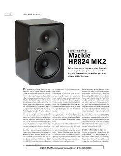 Sound & Recording Mackie HR824 MK2