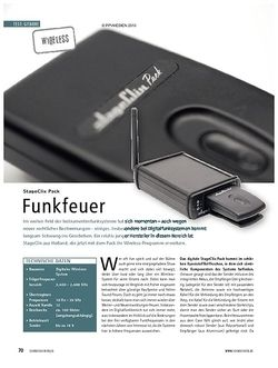 Soundcheck Test: StageClix Pack - Funkfeuer