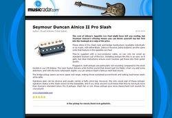 MusicRadar.com Seymour Duncan Alnico II Pro Slash