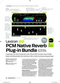 Computer Music Lexicon PCM Native Reverb Plugin Bundle