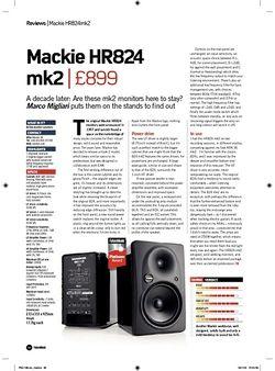 Future Music Mackie HR824 Mk2