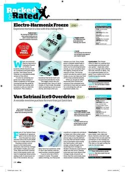 Total Guitar Electro-Harmonix Freeze