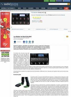 Audiofanzine.com TC Helicon Voice Live 2