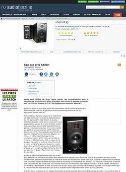 Audiofanzine.com ADAM A5