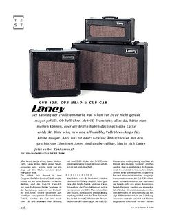 Gitarre & Bass Laney Cub-12R, Cub-Head & Cub-Cab, Tube-Amps