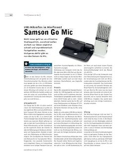 Sound & Recording Samson Go Mic
