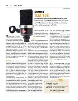 Sticks Neumann TLM 102 Mikrofon