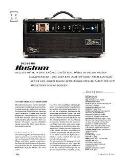 Gitarre & Bass Kustom DE300HD, Bass-Top