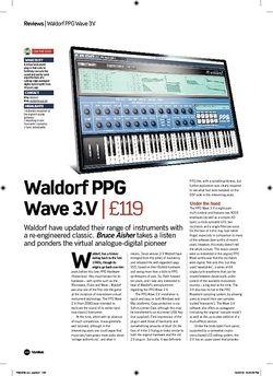 Future Music Waldorf PPG Wave 3.V