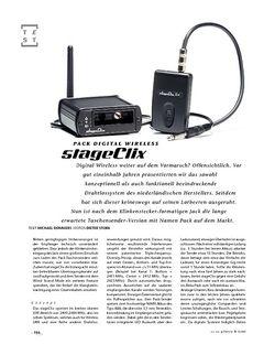 Gitarre & Bass StageClix Pack Digital Wireless, Drahtlosanlage